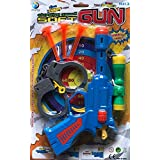 Shop & Shoppee Shooting Soft Dart Toy Gun With Handcuffs For Kids (Multicolor)