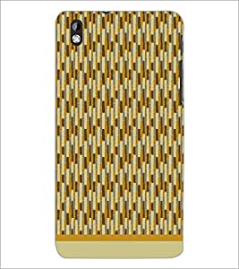 PrintDhaba Pattern D-1571 Back Case Cover for HTC DESIRE 816 (Multi-Coloured)