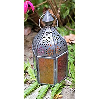 Metal Vintage Finish Decorative Home Outdoor/Indoor Lighting Lamp/Lantern/Candel Holder for Garden, Lawn & Patio by Sabirian C.I.C