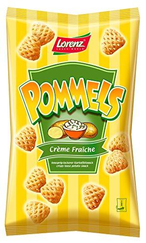 Lorenz Snack World Pommels Crème Fraiche, 6er Pack (6 x 75 g)