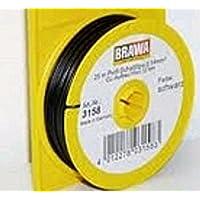 Brawa 3158 Schaltlitze 0,14 mm², 25 m Spule, schwarz