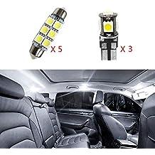 Cobear para Seat Super Brillante Fuente de luz LED Interior Lámpara de Coche Bombillas de Repuesto