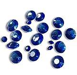 FLAIRELLE, Tischkristalle, Royal Blau, 45g, Deko-Kristalle, Deko-Diamanten, Tisch-Konfetti, Dekoration zur Hochzeit, Tischdekoration, ca. 300 Stück