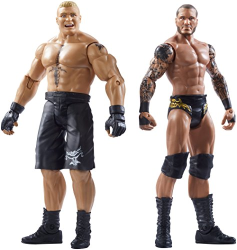 WWE Summerslam Brock Lesnar & Randy Orton Action Figur (2Er-Pack) -