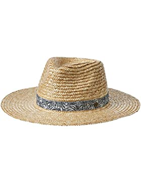 Volcom Summit Breeze tiene Beige Sombrero, mujer, Summit Breeze Hat Hut Damen Beige, natural, talla media/grande