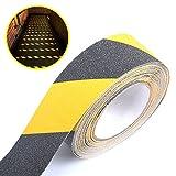 10M*50mm schwarz/gelb Antirutschband Klebeband Antirutschbelag Treppe Stufe