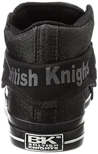 British Knights Roco, Baskets Basses Mixte Adulte NOIR/NOIR