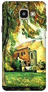 The Racoon Grip Farmhouse and Chestnut at Bouffan hard plastic printed back case / cover for Samsung Galaxy A5 (2016)