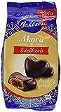 Bahlsen Akora Edelherb - leckere Lebkuchenherzen mit Fruchtfüllung, 1er Pack (1 x 150 g)