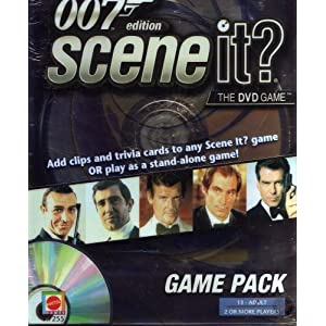 007 Edition, Scene It? Game Pack.