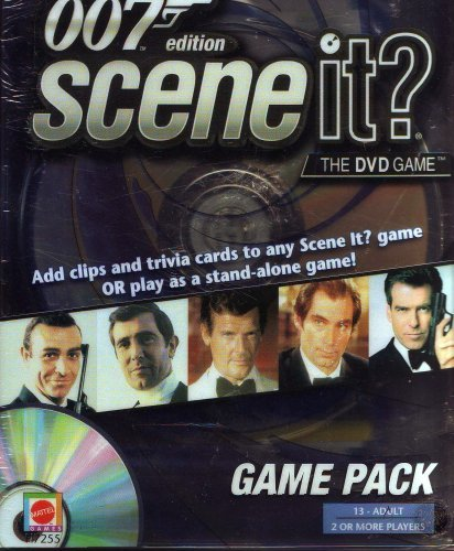 007 EDITION, SCENE IT? GAME PACK. MOVIE