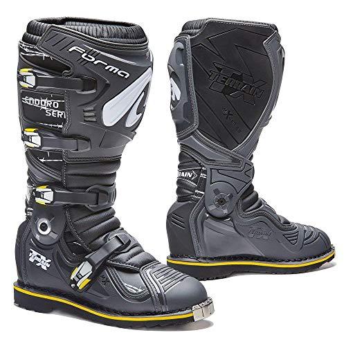 Forma Stiefel Moto Terrain TX Enduro homologuee Dieses anthrazit/schwarz Terrain Stiefel