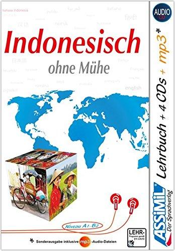 ASSiMiL Indonesisch ohne Mühe: Selbstlernkurs für Deutsche - Lehrbuch + 4 Audio-CDs + 1 mp3-CD