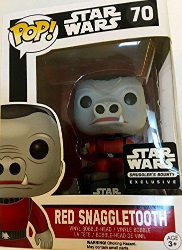 Funko Pop Snaggletooth Rojo (Star Wars 70) Funko Pop Star Wars