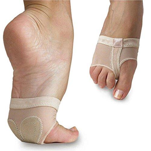 Best Dance Belly/Ballet Dance Toe Pad Foot/Feet Thong Protection Dance Socks Test