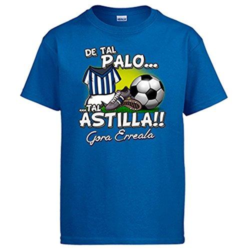 Camiseta De Tal Palo Tal Astilla Real Sociedad fútbol - Azul Royal, L