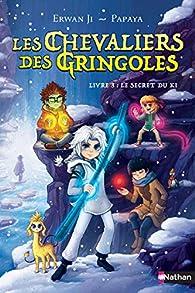 Les chevaliers des Gringoles , tome 3 : Le secret du Ki  par Erwan Ji