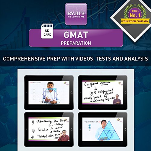 Byju's GMAT Preparation - 3 Months Validity (SD Card)