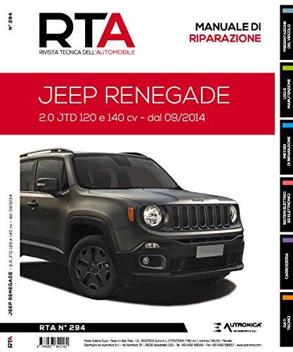 Jeep Renegade. 2.0 jtd 120 e 140 cv. Dal 09/2014