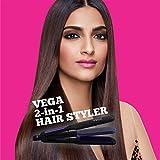 Vega VHSC-01 2 In 1 Hair Styler (Black)