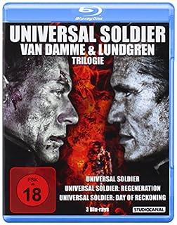 Universal Soldier - Van Damme & Lundgren Trilogie [Blu-ray]