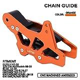 Motorrad CNC-Kettenführungsschutz für KTM SX / SX-F 125-530 85SX FREERIDE 250 R 350 690ENDURO R / ABS SMC / R / ABS Husqvarna FC TC TEXT FX TC85 701 Enduro Orange