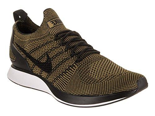 Nike Men's Air Zoom Mariah Flyknit Racer Gymnastics Shoes, Black