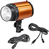 Neewer® Smart 250SDI 250W Lámpara 220V de flash estroboscópico de estudio de fotografía para DSLR cámara GN48, cubierta de aluminio