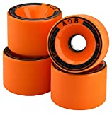 AOB Longboard Rollen (4 Stck) offset 74x52 mm/78A (orange)