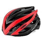 Fahrradfahren Helm, EIN Rad - Fahrrad Helm,Schwarz - Rot,L