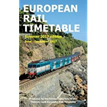 European Rail Timetable Summer 2017: June - December 2017