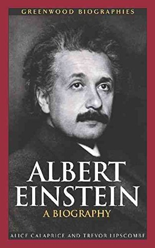 Portada del libro [Albert Einstein: A Biography] (By: Alice Calaprice) [published: July, 2005]