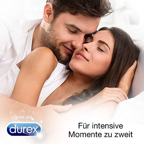 Durex Gefühlsecht Kondome, hauchzart für intensives Empfinden, 16er Pack (1 x 16 Stück) - 5