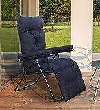 bi3 Household Multi function Adjustable Lazy Chair Beach Easy Chair Portable, Folding Garden