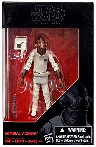 Star Wars, 2016 The Black Series, Admiral Ackbar Exclusive Action Figure, 3.75 Inches (Star Wars Action Figur Admiral)