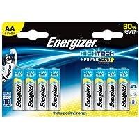 Energizer 632885 Energizer High Tech 8 Batterie Alcaline, stilo AA
