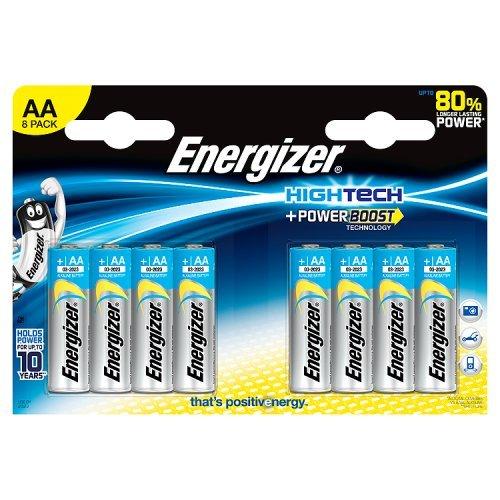 Energizer ENULTIMATEAAP8 Alkaline AA/LR6 HighTech 1,5V Batterien (6+2-er Blister)