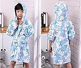 Kreative neue Superweichkorallen Fleece Bademantel Kinder komfortablen Trainingsanzug Jungen und