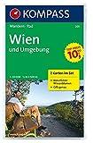 Wien und Umgebung 1 : 50 000: Wandern/Rad. 2-teiliges Set mit Naturführer. GPS-genau
