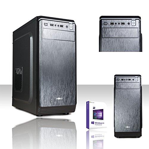 Pc desktop completo intel i3-7100 3,9 ghz 7°gen/licenza windows 10 professional 64 bit/scheda grafica intel hd 630 1gb 1080p 4k/wifi 150mbps/hd 1tb sata iii/ram 8gb ddr4 2133 mhz/2.0 3.0 hdmi vga dvi