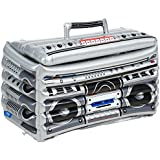 Beistle 57103 1-Pack Inflatable Boom Box Cooler, 24-Inch by 16-Inch