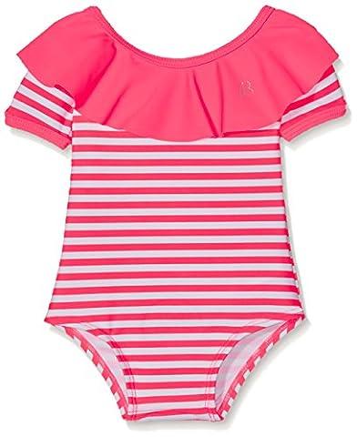 Billieblush Swimming Costume, Boxer Bébé Fille, Pink (Fuschia), 0-6 Mois