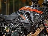 2Pegatinas 3D de protección para el depósito lateral, compatible con KTM 1290Super Adventure