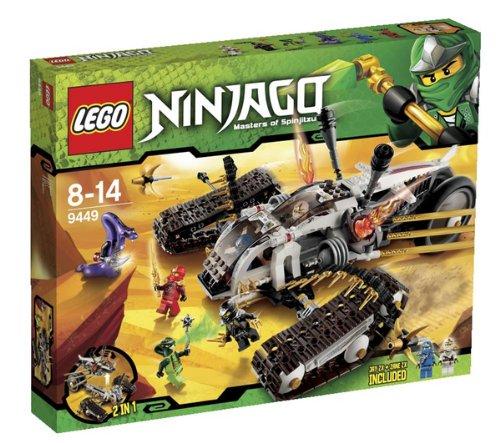 LEGO Ninjago - Ultra sonic - 9449 Ninjago - Bite Ciclo di Lasha - 9447