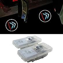 ZTMYZFSL Luz de bienvenida de 2 piezas con luz de cortesía LED tipo de cambio original