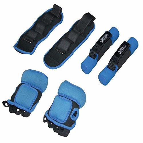 Best Sporting Gewichts-Set, 6-teilig, Gewichts-Manschetten, Fitness und Training - Manschette Gewicht Der Manschette Set