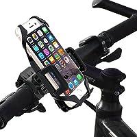 Fahrrad Handyhalterung, Bukm Universal Fahrradhalterung Smartphone Handyhalter Lenker Halterung für Smartphone und GPS-Gerät