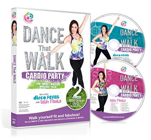 dio-Party, leichtgewichtiges Lauftraining mit zwei einfachen 5000 Schritt-DVDs (NTSC) ()