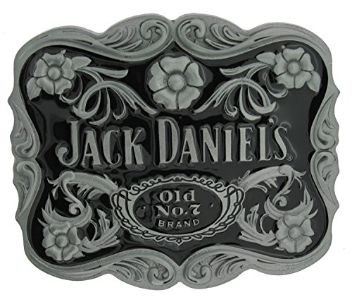 82 Mm Rose (Officially Licensed Jack Daniel's Five Roses Gürtelschnalle in einer meiner Präsentationsschachteln.)