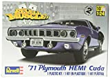 """Best Revell Muscle Cars - Revell Monogram 1:24 """"1971 Hemi Cuda 426 Muscle"""" Review"""